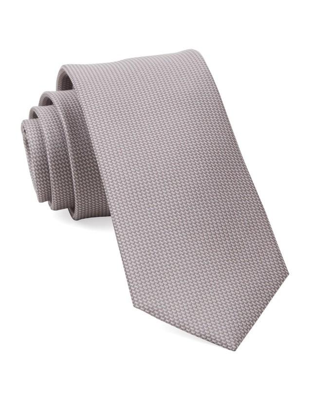 Union Solid Mauve Stone Tie