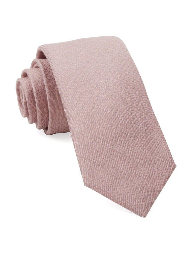 Dotted Spin Blush Pink Tie