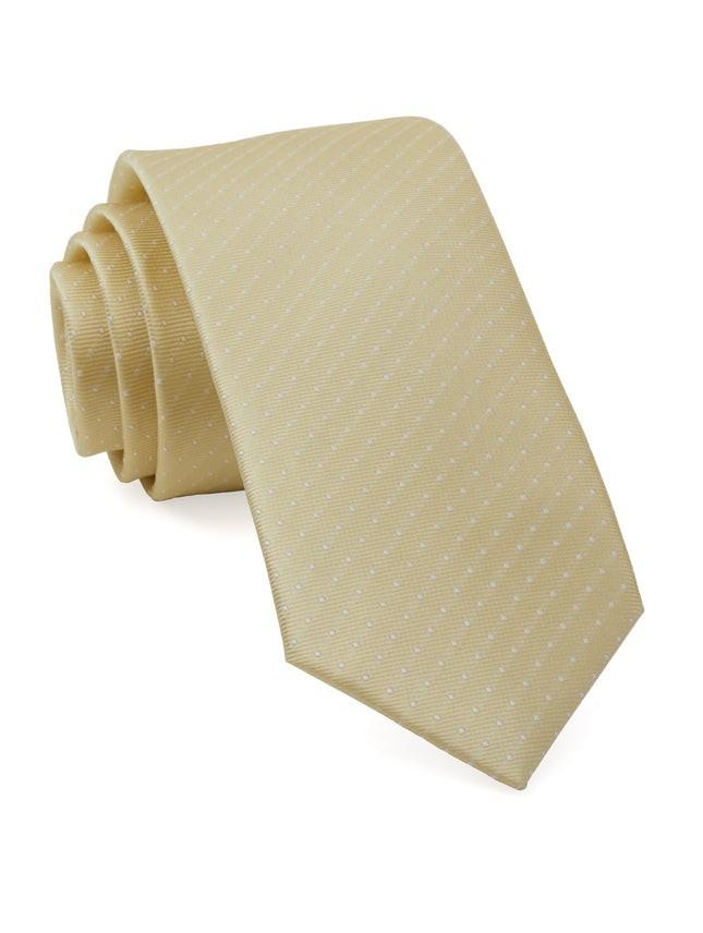 Mini Dots Butter Tie