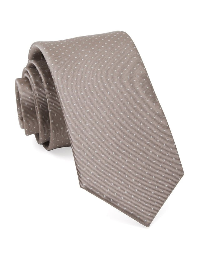 Mini Dots Sandstone Tie