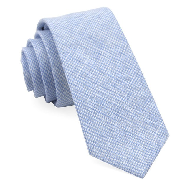 Summertide Tooth Dusty Blue Tie