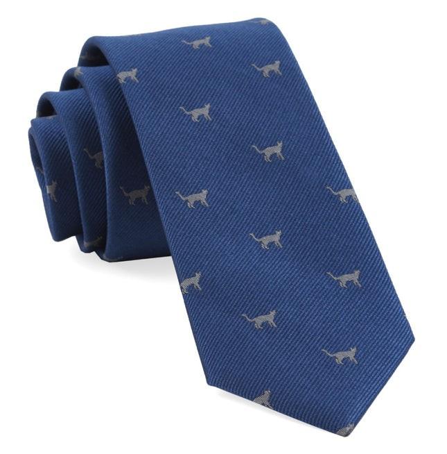 Koustis Cats Serene Blue Tie