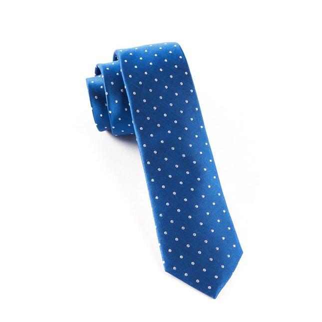 Hot Dots Royal Blue Tie
