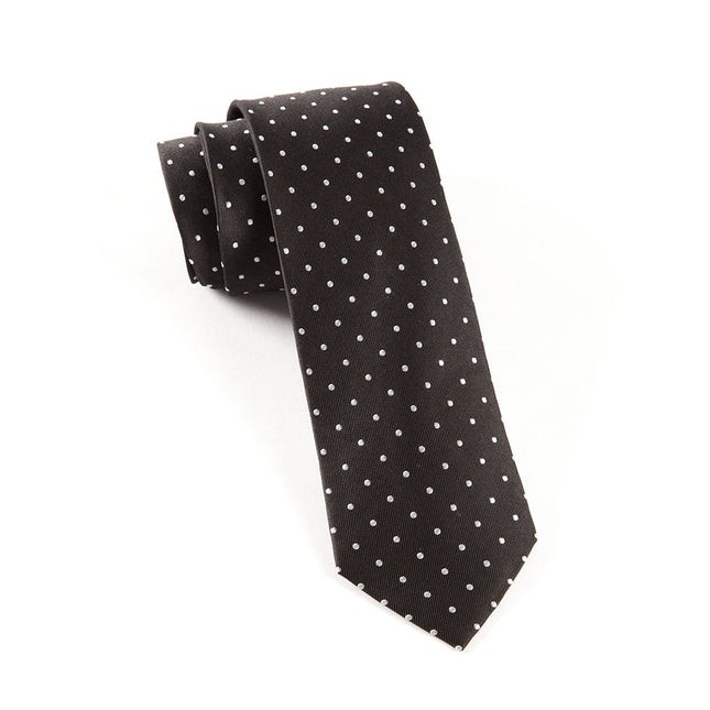 Hot Dots Black Tie