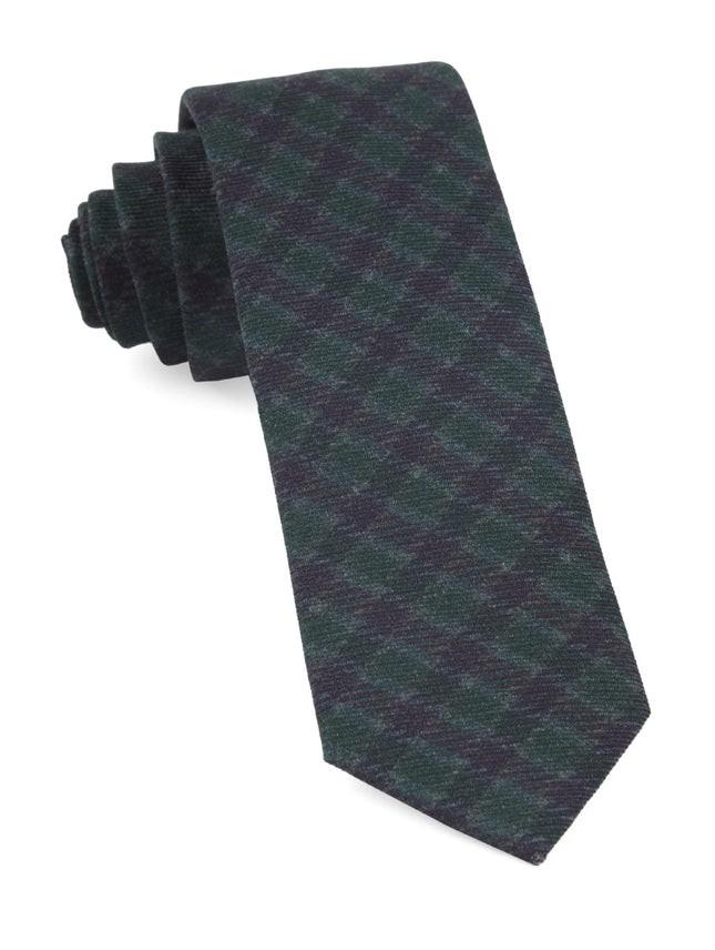 Wentworth Plaid Hunter Green Tie