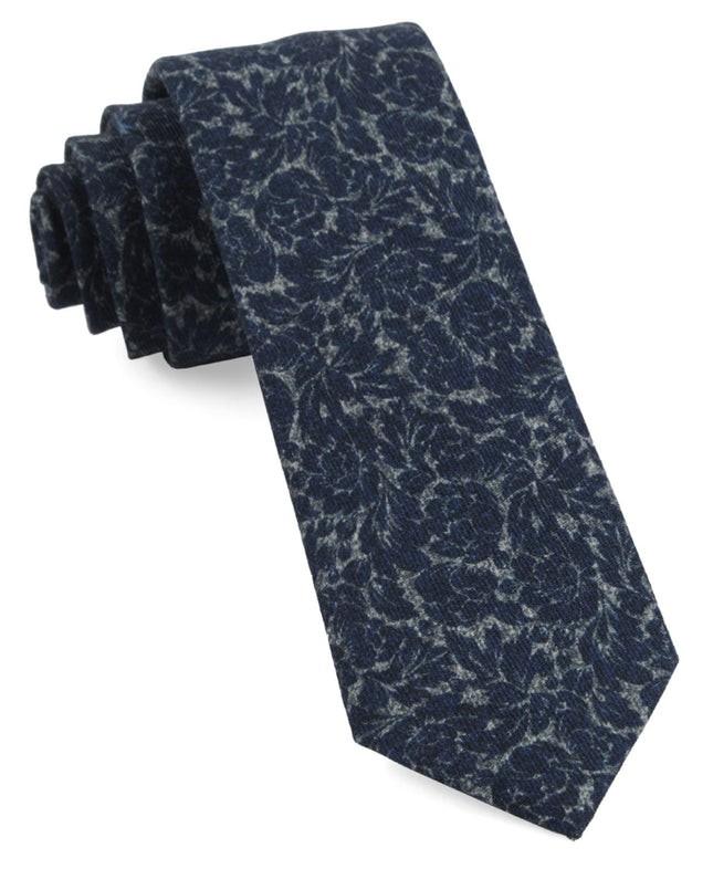 Kingsley Floral Navy Tie
