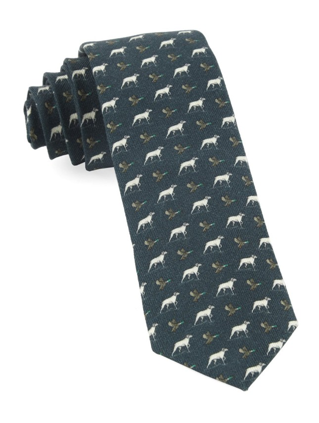 Boldrewood Chase Army Green Tie