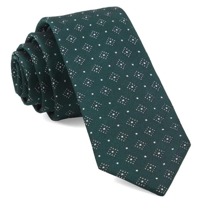 Gemstone Gala Hunter Green Tie