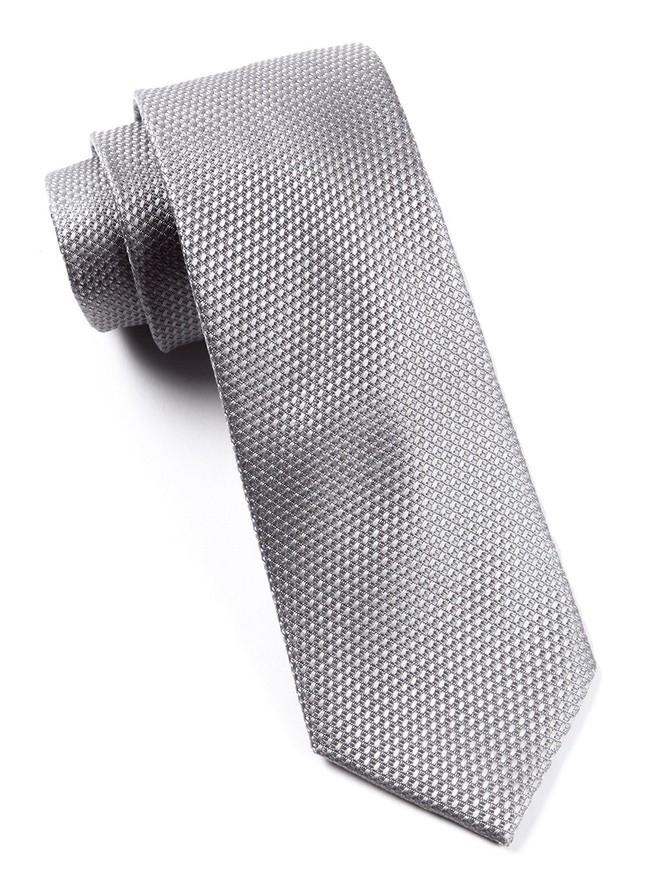 Grenafaux Silver Tie