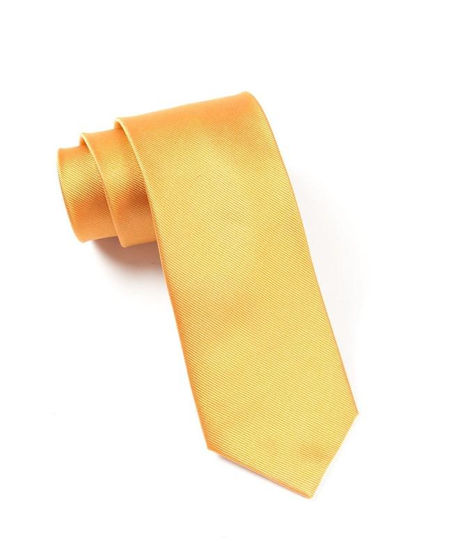 Grosgrain Solid Cantaloupe Tie