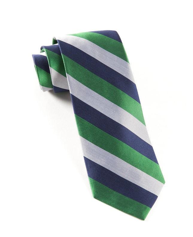 Draper Stripe Emerald Tie