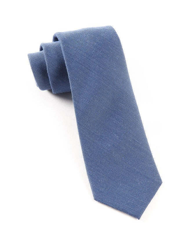 Downtown Solid Blue Tie