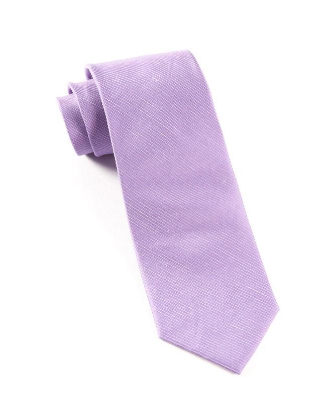Fountain Solid Wisteria Tie
