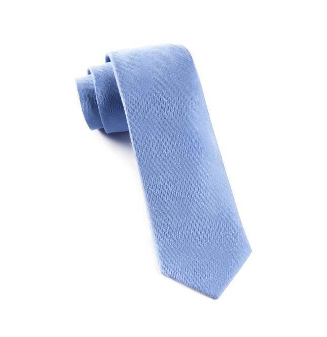 Sand Wash Solid Light Blue Tie