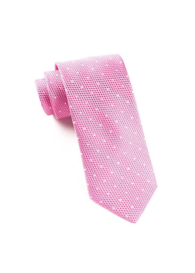 Grenafaux Dots Pink Tie