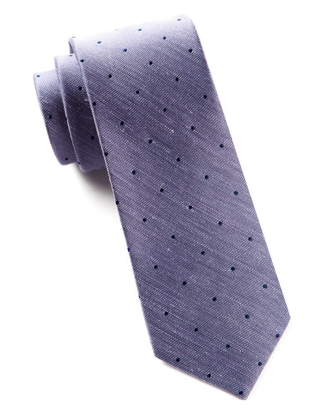 Bulletin Dot Purple Tie