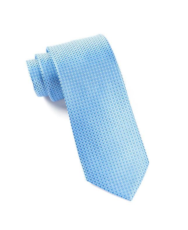 Chiclet Light Blues Tie