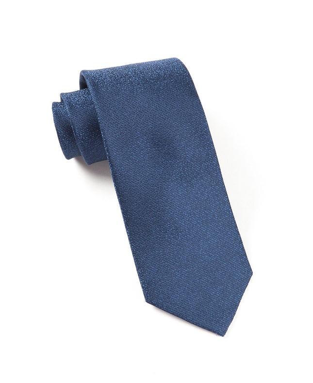 Graphite Solid Blues Tie