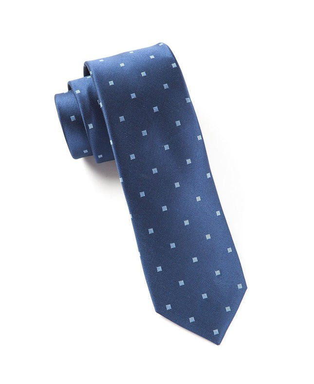 Checks & Balance Navy Tie