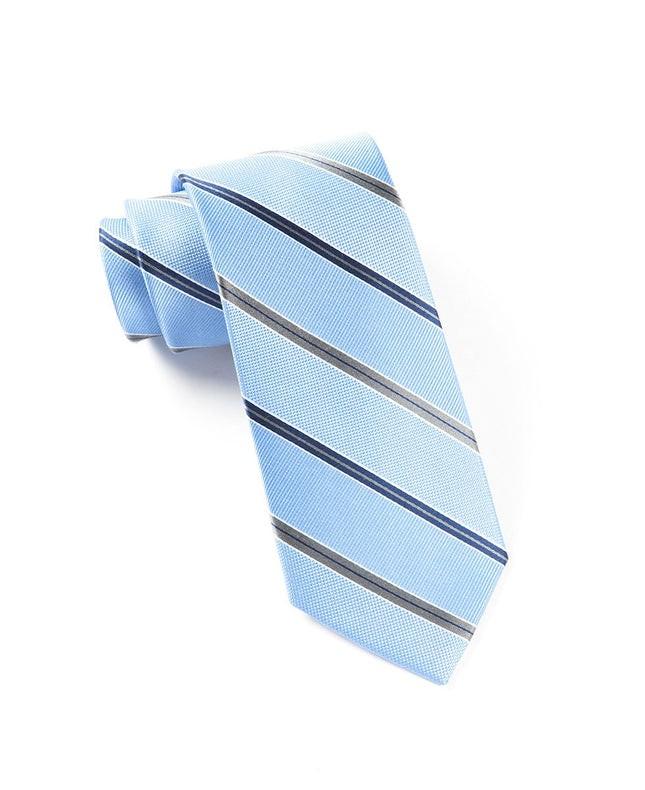 Vocal Stripe Light Blue Tie