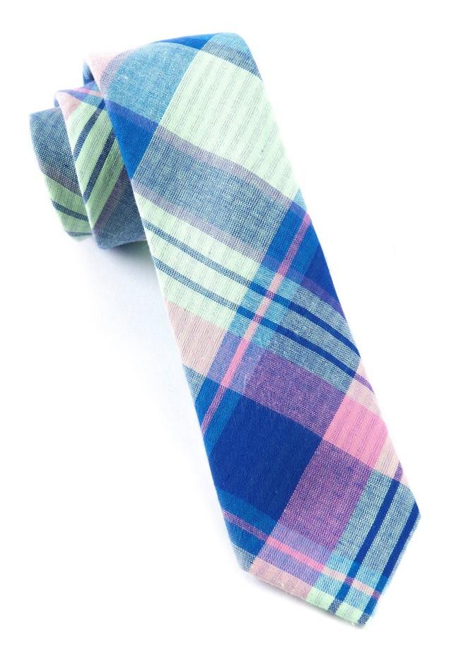 Furlong Plaid Key Lime Tie