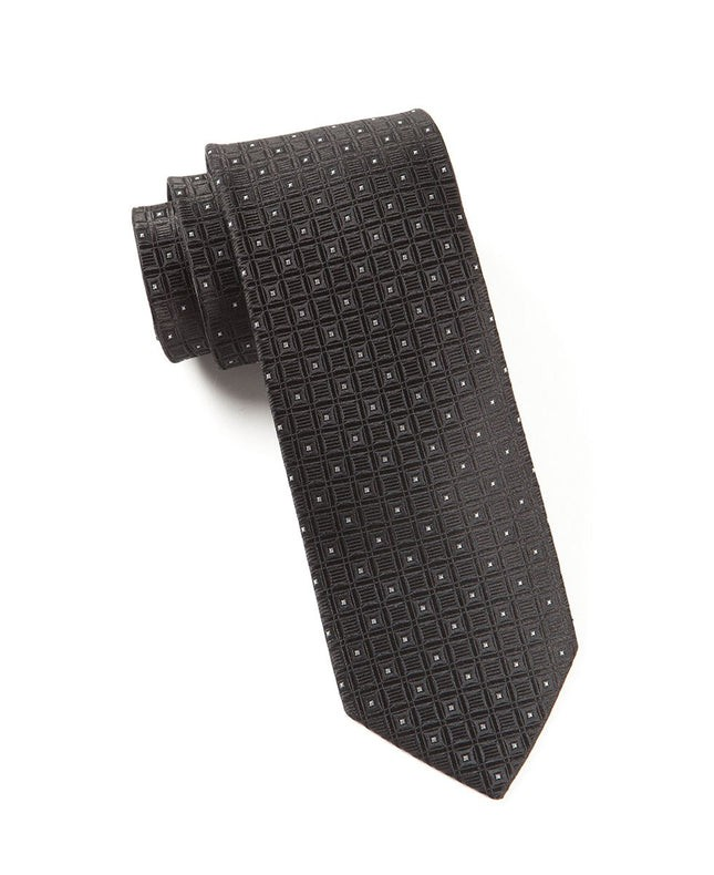 Covert Checks Black Tie
