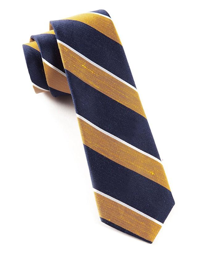 Patina Stripe Orange Tie