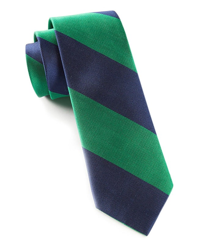 Super Stripe Emerald Tie