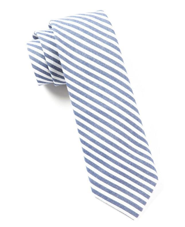 Minor Stripe Blue Tie