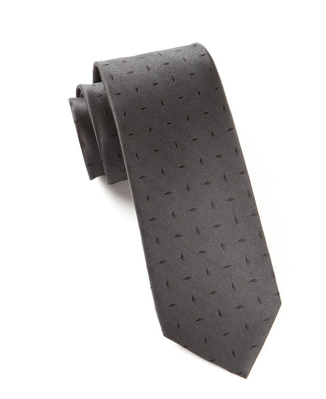 Industry Solid Black Tie
