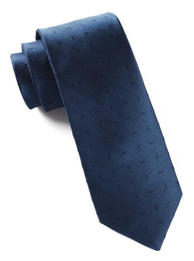 Industry Solid Navy Tie