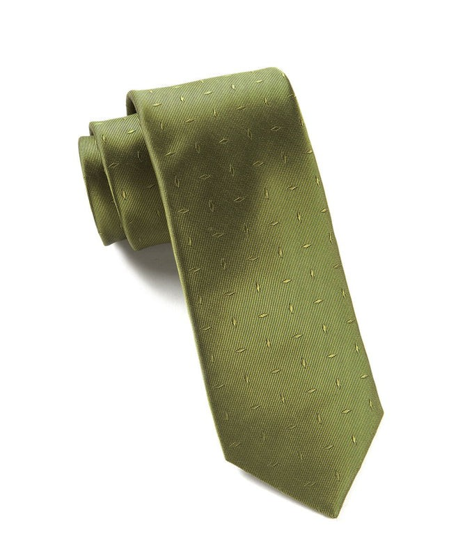 Industry Solid Woodbine Tie