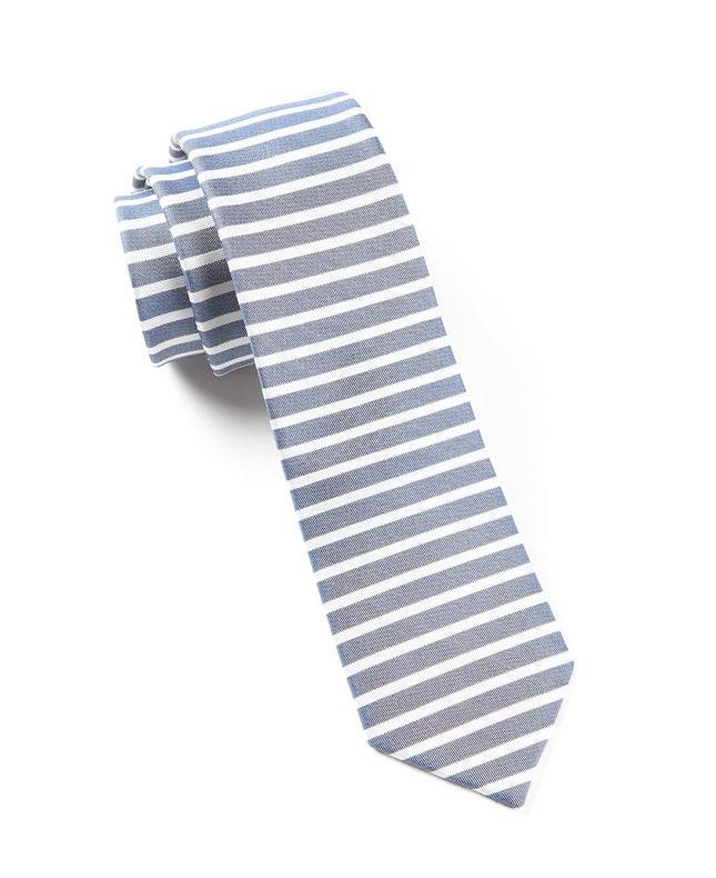 Unity Stripe Navy Tie