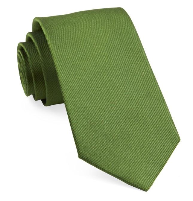 Grosgrain Solid Treetop Tie