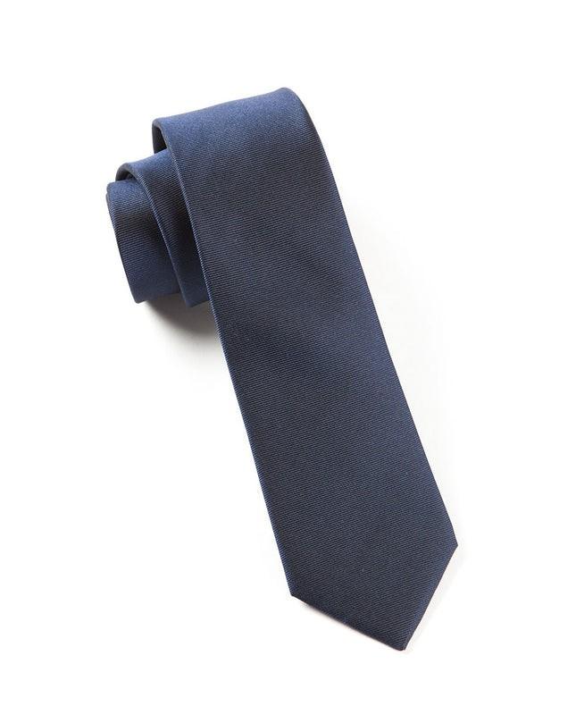 The Signature Classic Navy Tie
