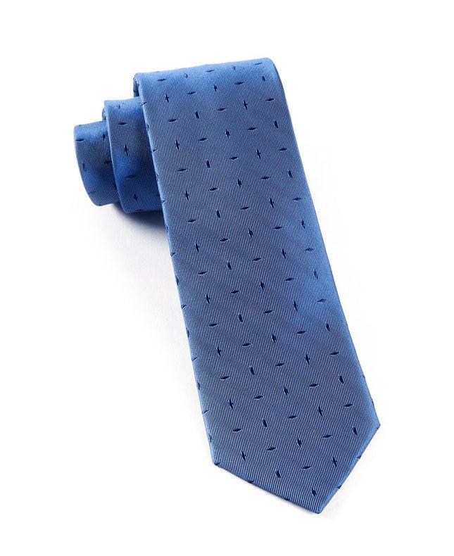 Industry Solid Denim Blue Tie