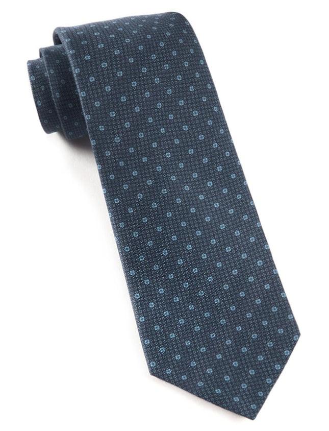 Pacific Polkas Navy Tie