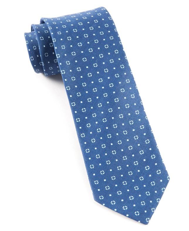 Geo Scope Royal Blue Tie