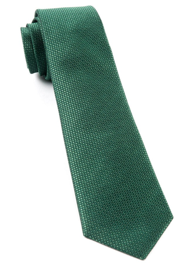 Sideline Solid Emerald Green Tie