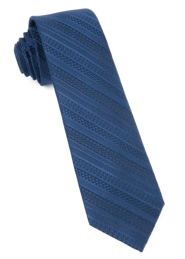 Indie Solid Navy Tie