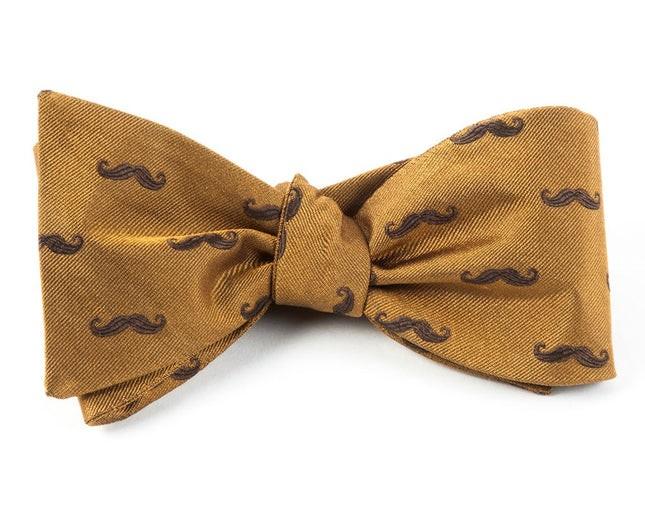 Ze Moustache Camel Bow Tie