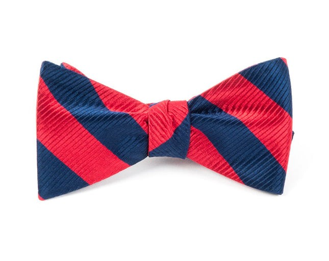 Classic Twill Red Bow Tie
