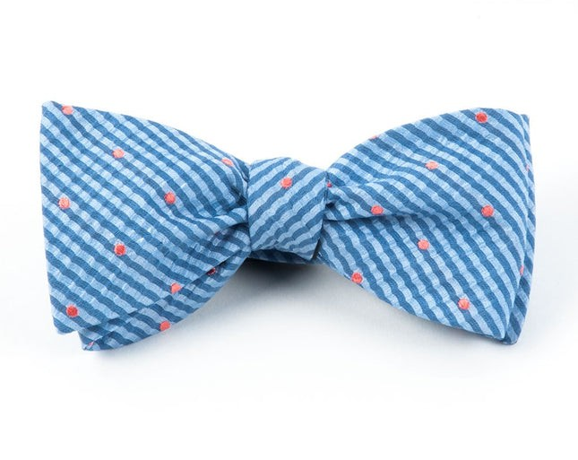 French Kiss Light Blue Bow Tie