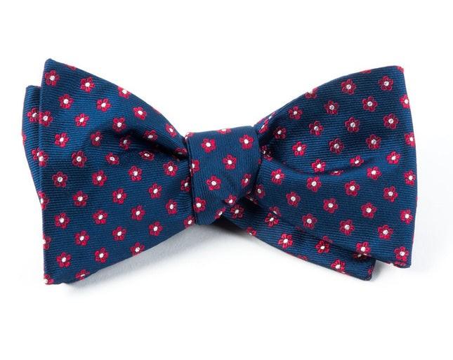 Anemones Navy Bow Tie