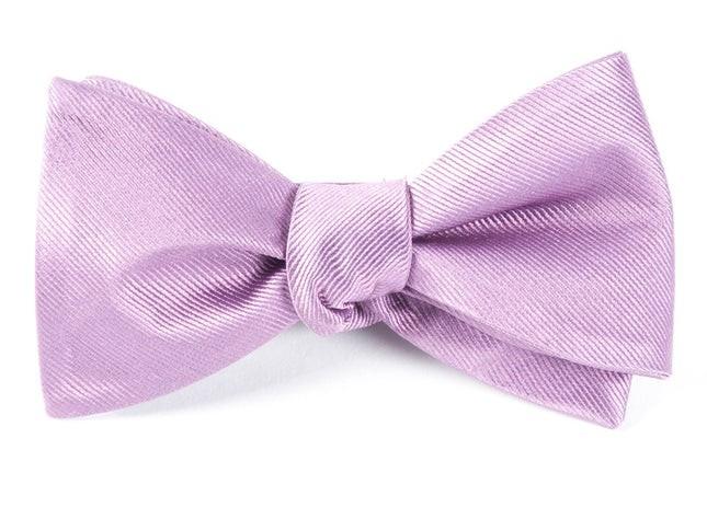 Grosgrain Solid Wisteria Bow Tie