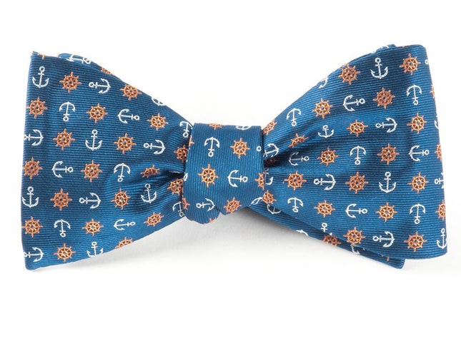 Offshore Serene Blue Bow Tie