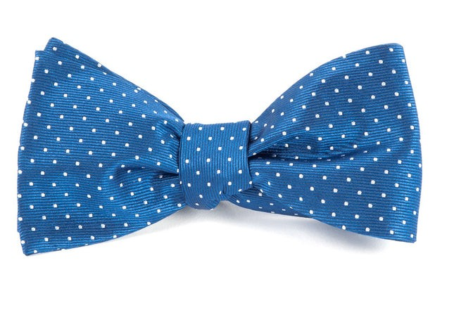 Mini Dots Classic Blue Bow Tie