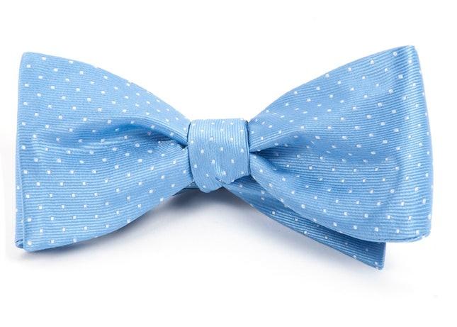 Mini Dots Light Blue Bow Tie