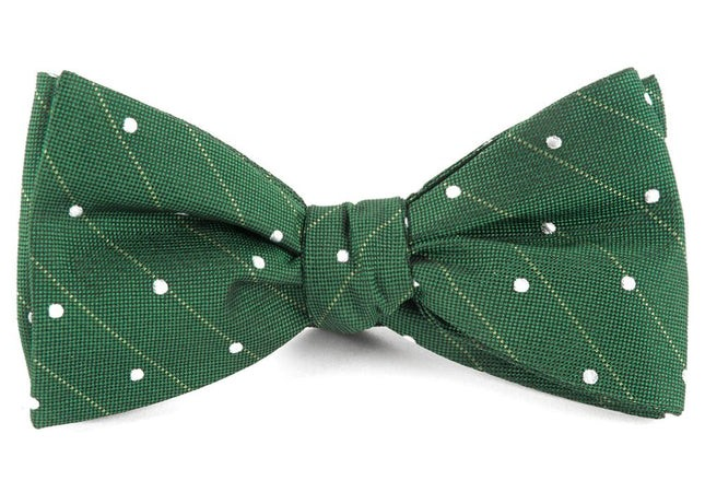 Ringside Dots Grass Green Bow Tie