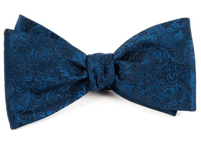 Ceremony Paisley Navy Bow Tie